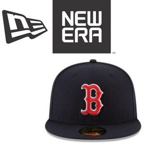 New Era Kids Boston Red Sox Fitted Cap -Size 6 3/4